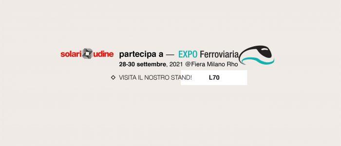 Solari partecipa a EXPO Ferroviaria